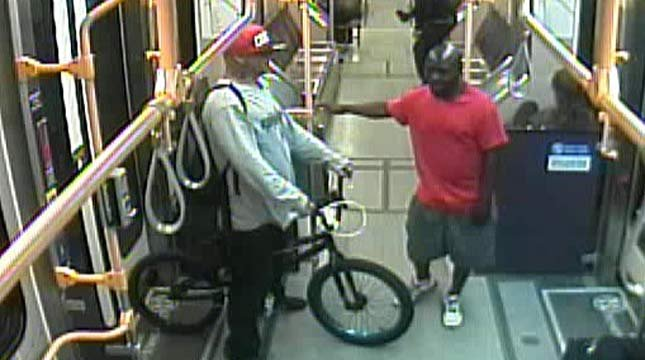 Surveillance photo of suspects from Portland Police Bureau
