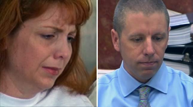 Terri Horman (left) and Kaine Horman (right) are embroiled in a