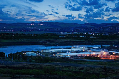 Google data center in The Dalles. Photo: Google