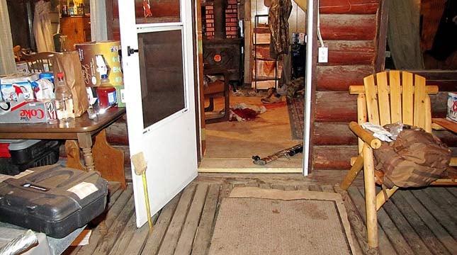 WARNING: Graphic image of shooting scene. (AP Photo/Grant County Sheriff)