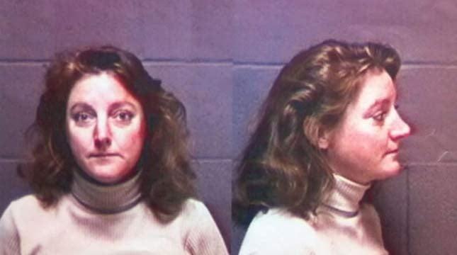 Jane Keating, 1997 booking photo