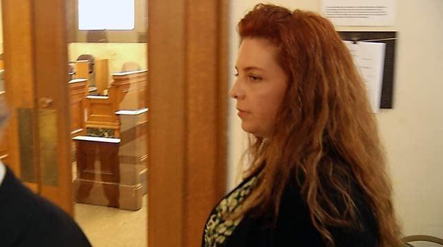 Terri Horman leaves the courtroom Thursday.