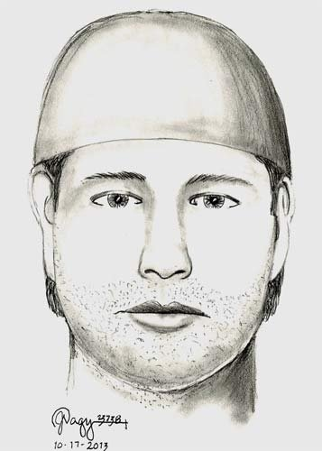 Sexual assault suspect sketch: Marion County Sheriff's Office