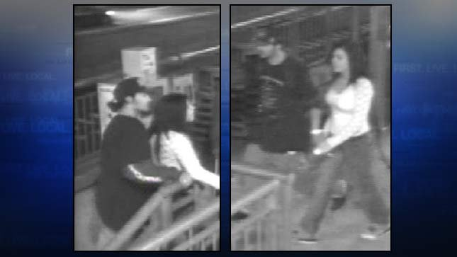 Surveillance photos of 'persons of interest' in deadly shooting case.
