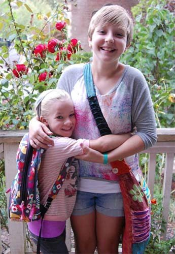 Anna Dieter-Eckert, Abigail Robinson. Photo provided by family