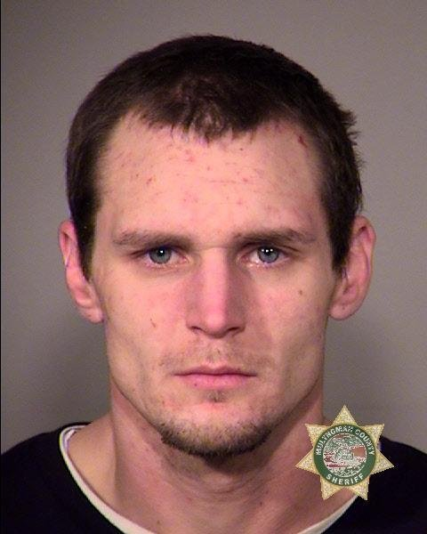 Steve Peterson was booked into the Multnomah County Jail