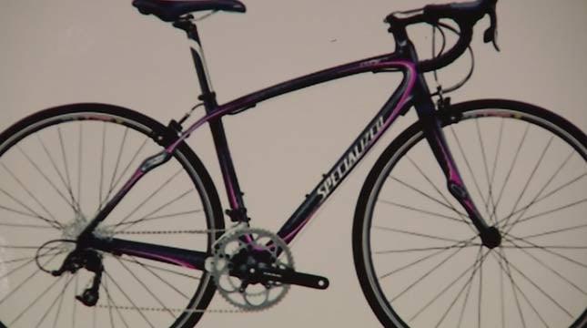 Chelsa Shelton's stolen bike.