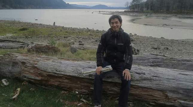 Yosuke Onishi, photo taken Nov. 26 near Cougar