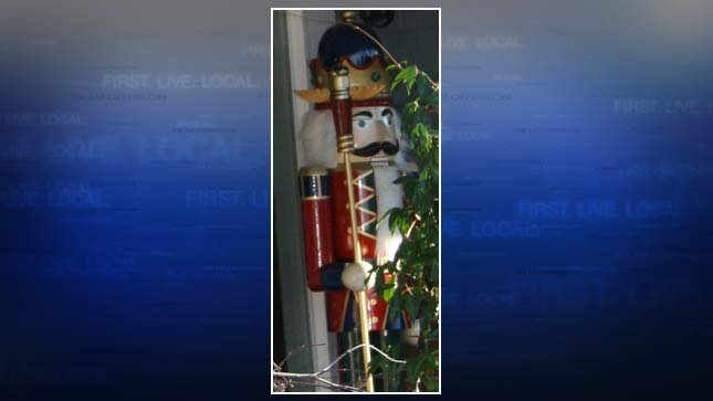 Stolen 6-foot-tall nutcracker statue