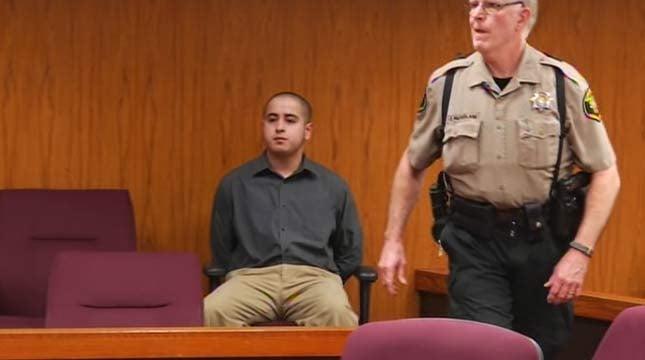 Mario Echeverria, in court Thursday