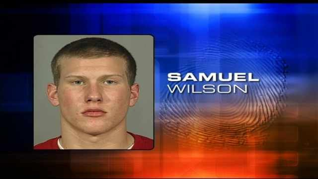 Sam Wilson, 2007 booking photo