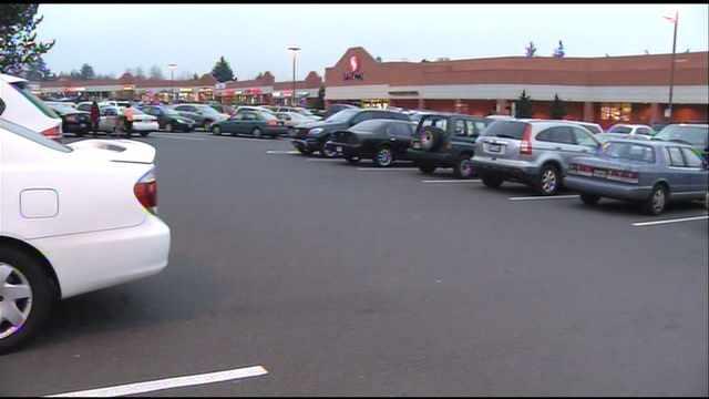 Safeway parking lot