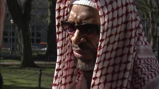 Ibrahim Mubarak, outside court Friday