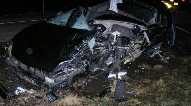 Victim's car // Photo: OSP