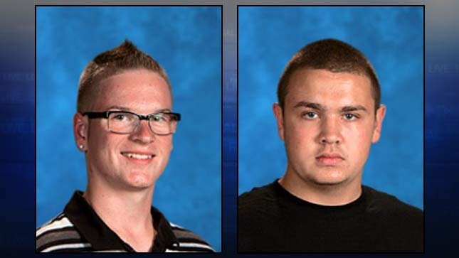 Brett Pearson, left, Robert Miller II. Class photos provided by Salem-Keizer Public Schools.
