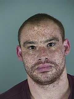Christopher Vanorden, booking photo from February 2014