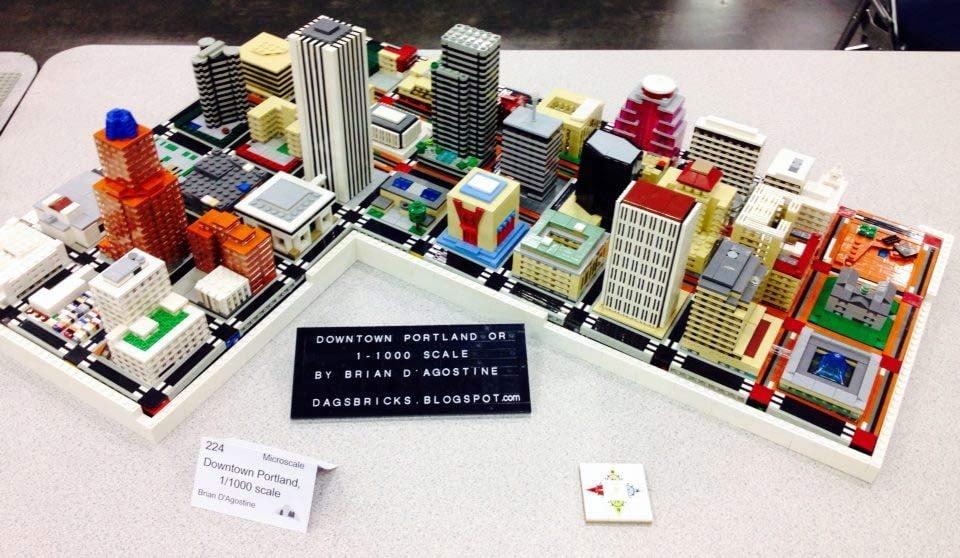 Lego Portland // Photo courtesy: Brian D'Agostine