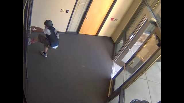 Troutdale Police Department surveillance image