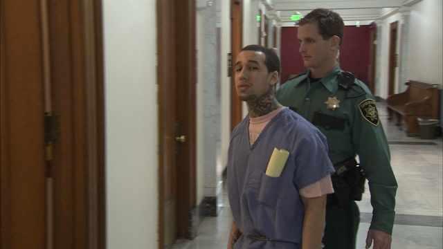 Bradley Ritmiller leaving court Thursday