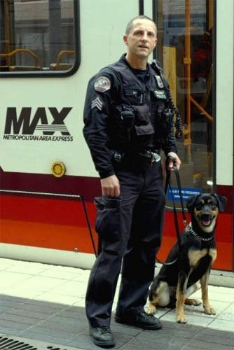 Max and Sgt. Jim Simms
