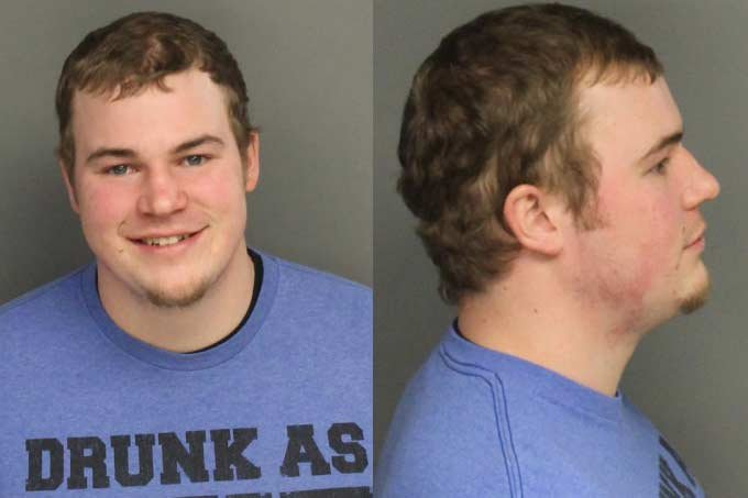A cropped version of Ross McMakin's mug shot from the Benton County Jail.