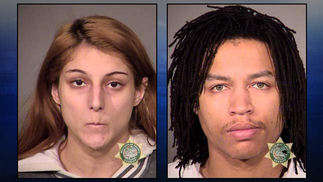 Julia Haner, Konrod Mason, booking photos