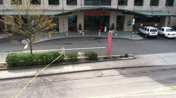 All clear at OHSU after pipe bomb scare