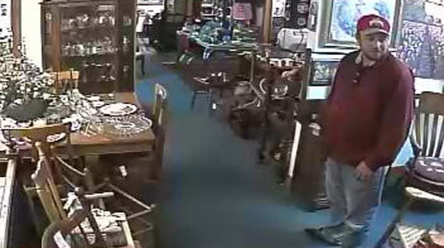 Wanted man accused of stealing Civil War-era pistols from Aurora shop
