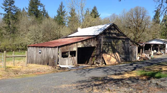 Barn before fire // Photo: Lewis County Sheriff's Office