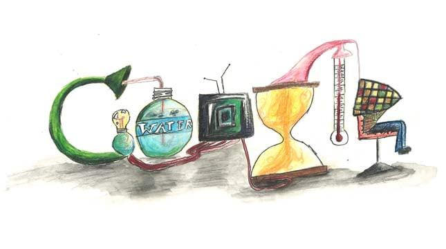 Matthew Huang Lei's Doodle 4 Google winning entry.