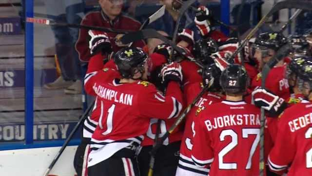 There was no big celebration this time for the Winterhawks, who fell 4-2 to Edmonton.