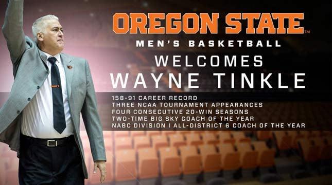 Courtesy: Oregon State Athletics