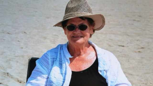 Stella Adamson, 72, was pronounced dead at a hospital after she and her sister became stuck in a snowdrift.