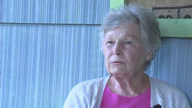 Sue Blake, 80, survived. She and her sister located a camp occupied by Robert Nelson.