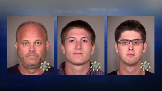 From left: Shanan Queen, Ryan Darby, Dustin Silva