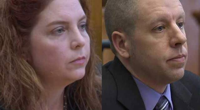 Terri Horman (left) and Kaine Horman (right) were involved in a lengthy divorce and custody case over the past year.