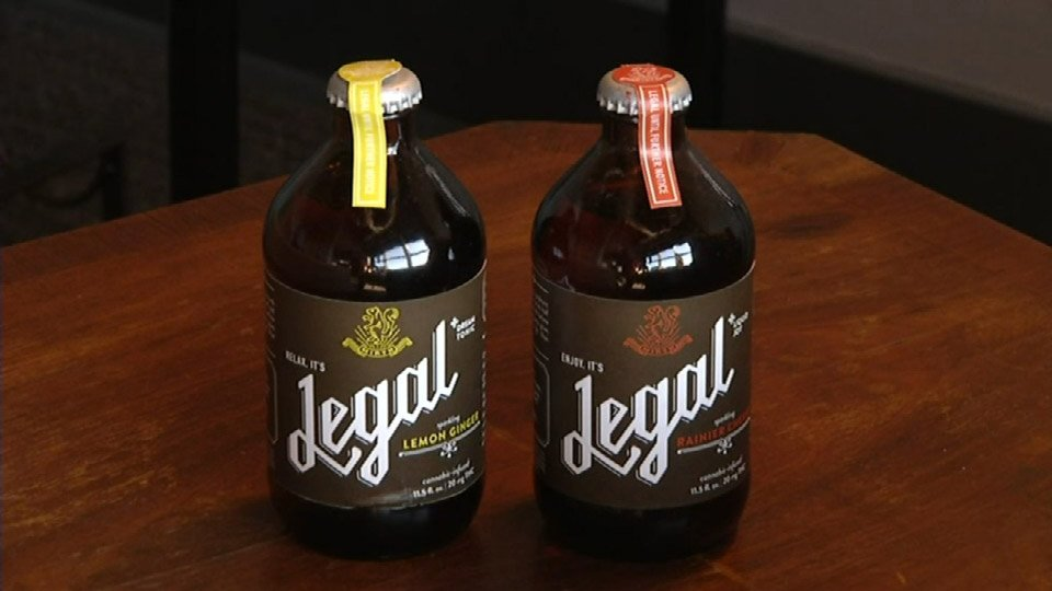 """Legal"" brand cannabis-infused soda"