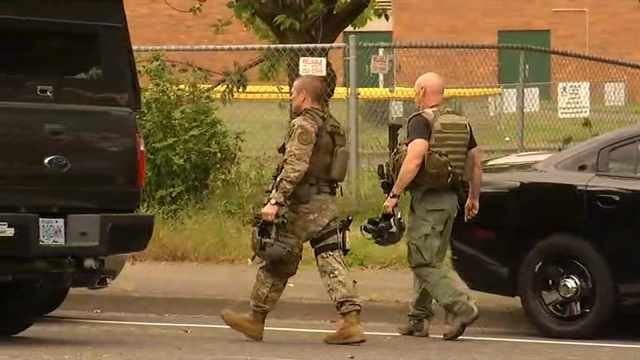 A SWAT team responded to Reynolds High School after getting a report of an active shooter at 8 a.m. on Tuesday.
