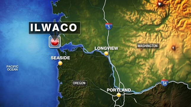 The victim and survivors were taken to Coast Guard Station Cape Disappointment in Ilwaco, WA.