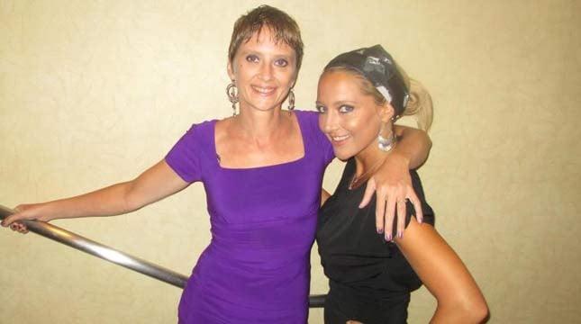 Tiffany Jenks (right) with her sister, Jennifer. // Photo courtesy of The Jenks family