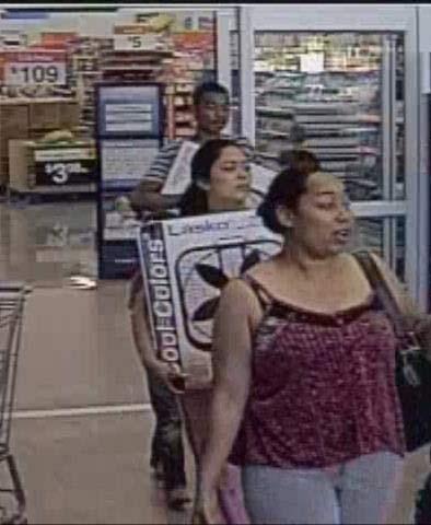Surveillance photo of assault suspects (Photo: City of Battle Ground)
