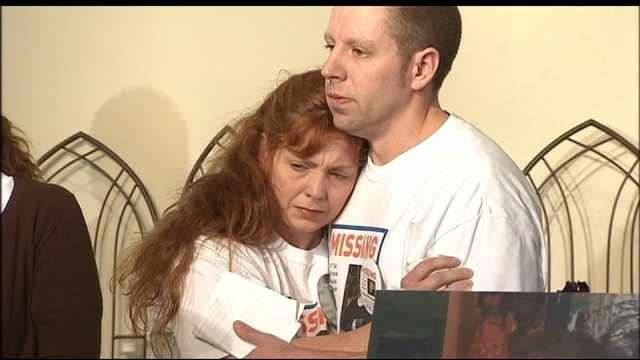 Terri Horman with Kaine Horman, the day following Kyron's disappearance