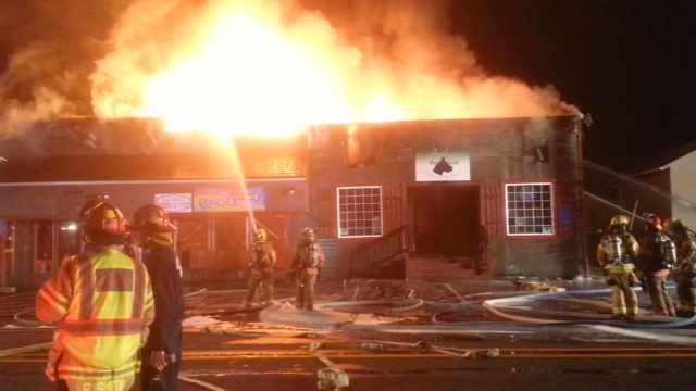 Investigators ruled a fire that destroyed Baileys Pub and Grub and Currinsville Market in Estacada in June was deliberately set.