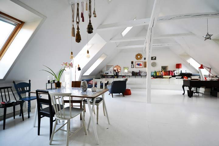 Airbnb sets up its users with unique places to stay all around the world -- like this architecture loft.