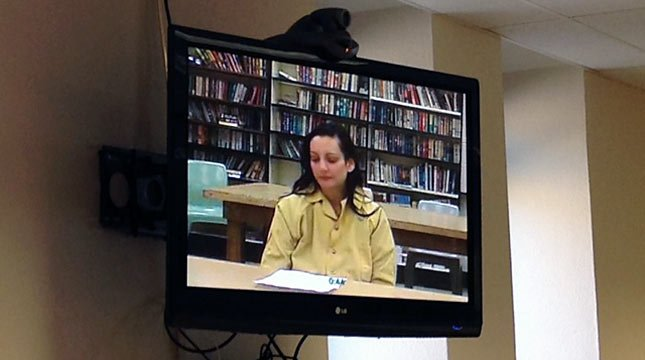 Jessica Smith made her first court appearance via video Monday afternoon.