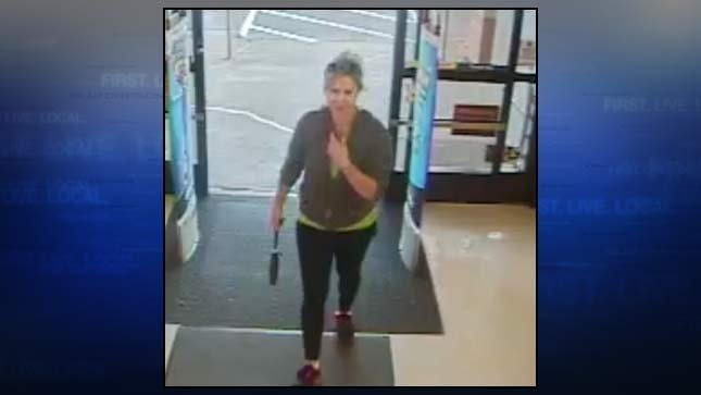 Police released a surveillance image of Jennifer Huston taken the night she disappeared at Rite Aid in Newberg.