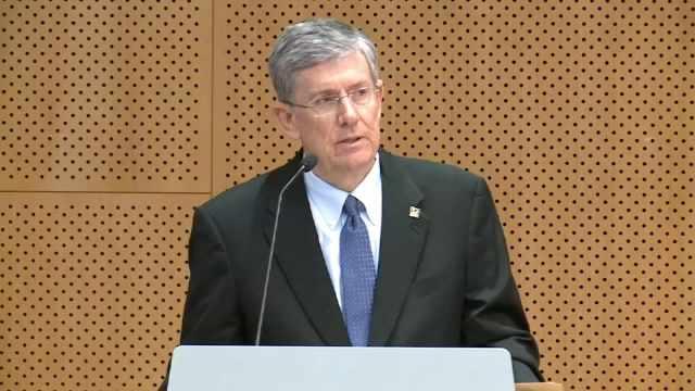 Former University of Oregon President Michael Gottfredson, file image