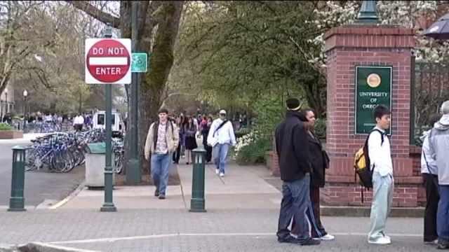 University of Oregon, file image