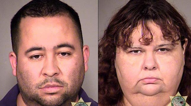 Ramon Barretto and Janet Barretto are being held in the Multnomah County Jail.
