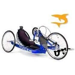 A hand cycle similar to the one stolen from Johnson's home